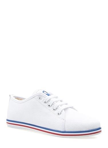 Benetton Bn30225 Kadın Spor Ayakkabı Beyaz